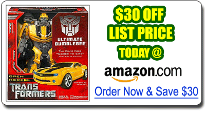 Transformers Ultimate Bumble Bee