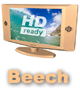 Tree V - Wooden TV Beech UK Prices - XV119TVWBEECH