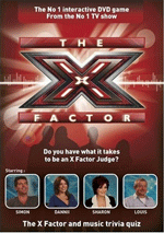The X Factor Interactive DVD Game